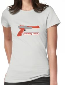Packing Heat - Zapper Womens Fitted T-Shirt