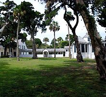 Plantation Home by Mattie Bryant