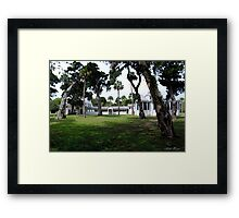 Plantation Home Framed Print