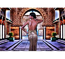 Haute Couture High Fashion Photographic Print