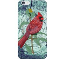Virginia Cardinal iPhone Case/Skin