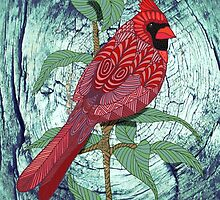 Virginia Cardinal by artlovepassion