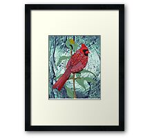Virginia Cardinal Framed Print