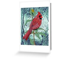 Virginia Cardinal Greeting Card