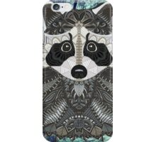Ornate Raccoon iPhone Case/Skin