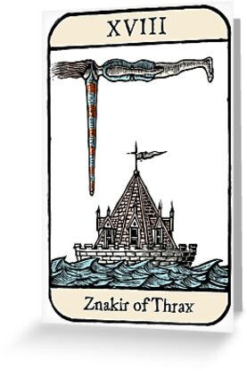 The Znakir of Thrax by Ellis Nadler