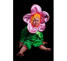 I DON'T WANNA BE A STUPID FLOWER! Photographic Print