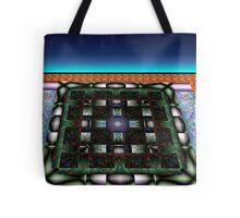 Sahar#10:  Futuristic Game Board (G0986) Tote Bag