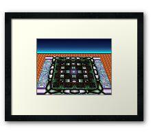 Sahar#10:  Futuristic Game Board (G0986) Framed Print