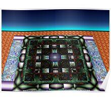 Sahar#10:  Futuristic Game Board (G0986) Poster