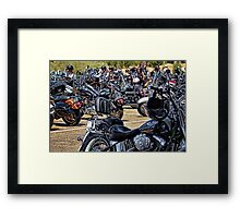 Hog Heaven! Framed Print