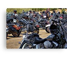 Hog Heaven! Canvas Print