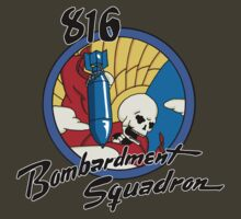 816th Bomb Squadron Tee by nplant