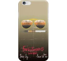 Minimalist Fear amd Loathing  iPhone Case/Skin