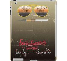 Minimalist Fear amd Loathing  iPad Case/Skin