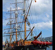 Jeanie Johnston - Tall Ship Race ,Dublin by Ferdinand Lucino
