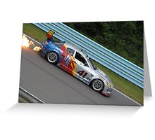Mazda RX-8 BIG Flames Greeting Card