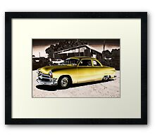 Low and Gold Framed Print