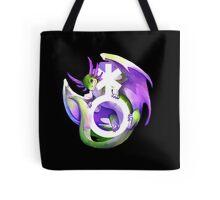 Genderqueer Pride Dragon Tote Bag