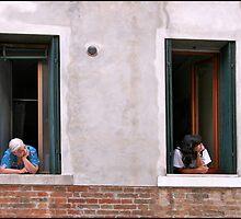 Women in the Windows by Alan Abriss