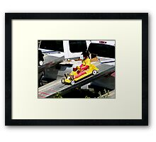 Up In The Soapbox II Framed Print
