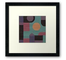 Abstract XVI Framed Print
