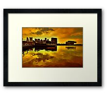 Magic of the nigth Framed Print