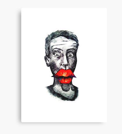 Big Lips Canvas Print