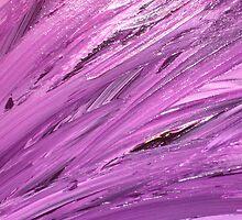 Purple Feathers by SealightArt