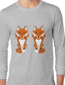 TWO FOXES Long Sleeve T-Shirt