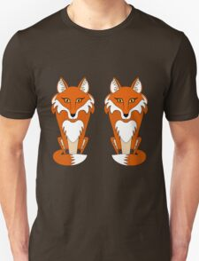 TWO FOXES Unisex T-Shirt