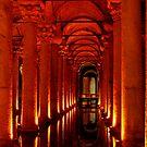 Underground Cistern, Istanbul by Marguerite Foxon