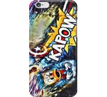 Kapow- street art at Camden Market iPhone Case/Skin
