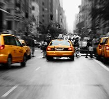 NYC Taxi by Joe  Barbour