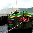 Dutch barge, Loch Ness, Scotland. by Roy  Massicks