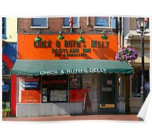 Chick and Ruth's Delly Poster