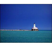 Lake Michigan Lighthouse Photographic Print