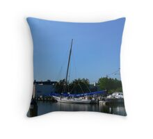 The Skipjack Stanley Norman Throw Pillow