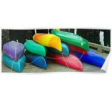 Kayak Kolor II Poster
