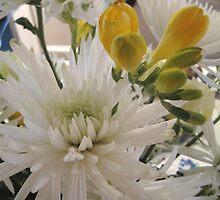 Detail of a Floral Arrangement by Patricia127