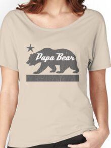 California Bear Family (PAPA Bear Version) Women's Relaxed Fit T-Shirt