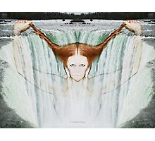 Lady in the water Photographic Print