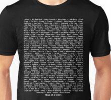 Sawyer's Nicknames Unisex T-Shirt