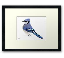 Uplifting Blue Framed Print