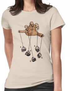 The Five Dancing Skulls Of Doom Womens Fitted T-Shirt