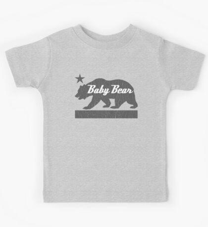 California Bear Family (BABY Bear Version) Kids Tee