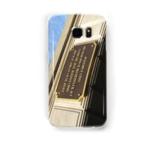 Today you leave the world ... Samsung Galaxy Case/Skin