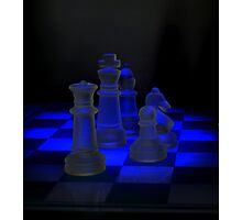 Chess Pieces Photographic Print