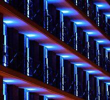 Lights in Blue by Adam1965