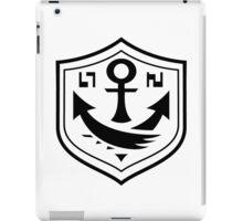 Splatoon - SquidForce Anchor Tee (Front) iPad Case/Skin